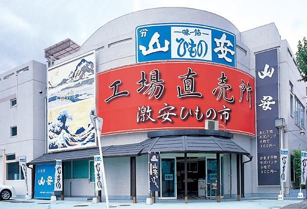 ターンパイク入口 山安直売店