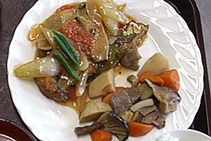 鯖の酢豚風