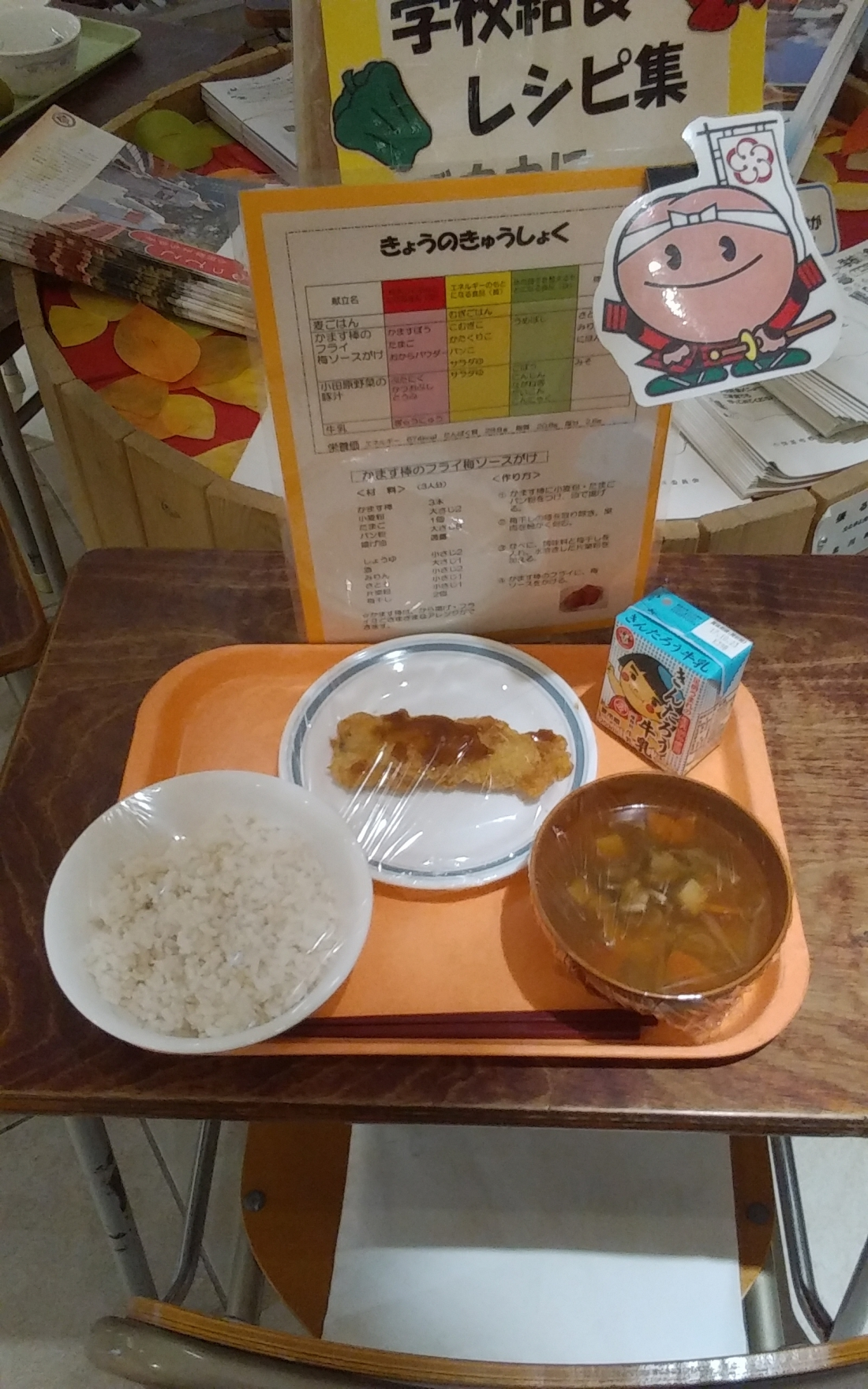 学校給食レシピ