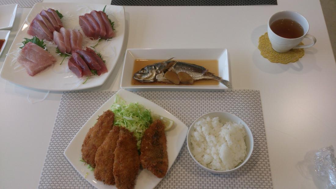 「旬の魚を味わう会」完成品
