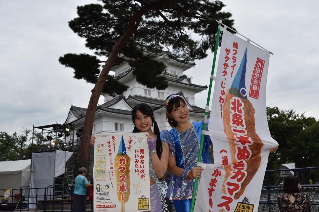 小田原 城 プロジェクション マッピング